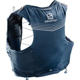 Salomon Adv Skin 5 Backpack Set poseidon/night sky